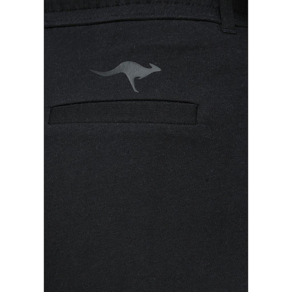 KangaROOS Jogger Pants, mit seitlichem, aufgesetztem Galon-Streifen