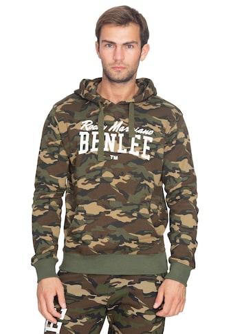 Benlee Rocky Marciano Kapuzenpullover in Military - Optik »GREENSTONE« kaufen