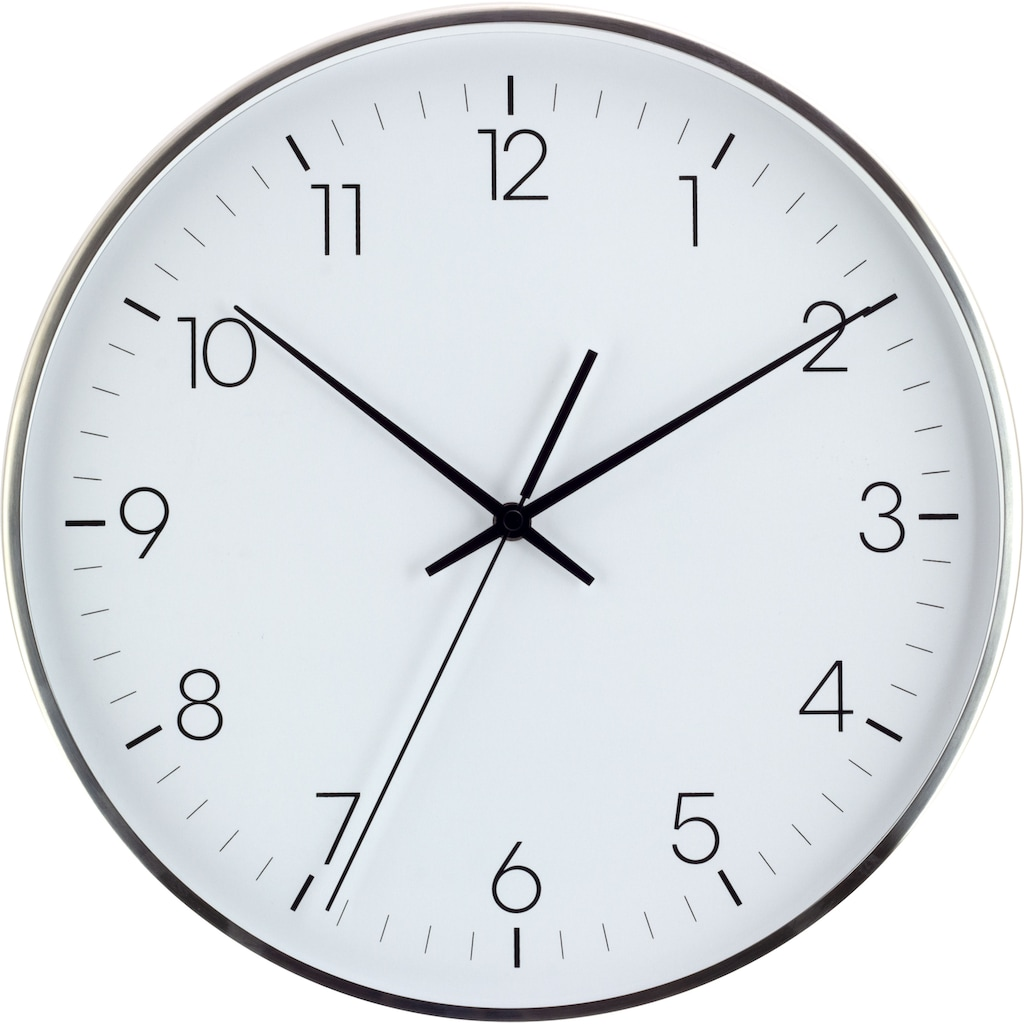 EUROTIME Funkwanduhr »Funkwanduhr DESIGN, 52047-07«