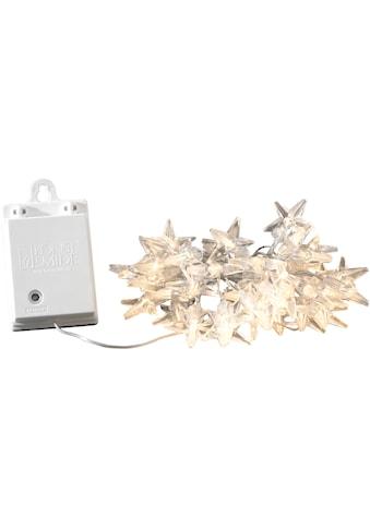 KONSTSMIDE LED-Lichterkette, 40 St.-flammig, LED Dekolichterkette, Acryl Sterne, 40... kaufen