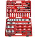 FAMEX Werkzeugset »606-09«, (Set, 174 St.), im mobilen Werkzeugkoffer
