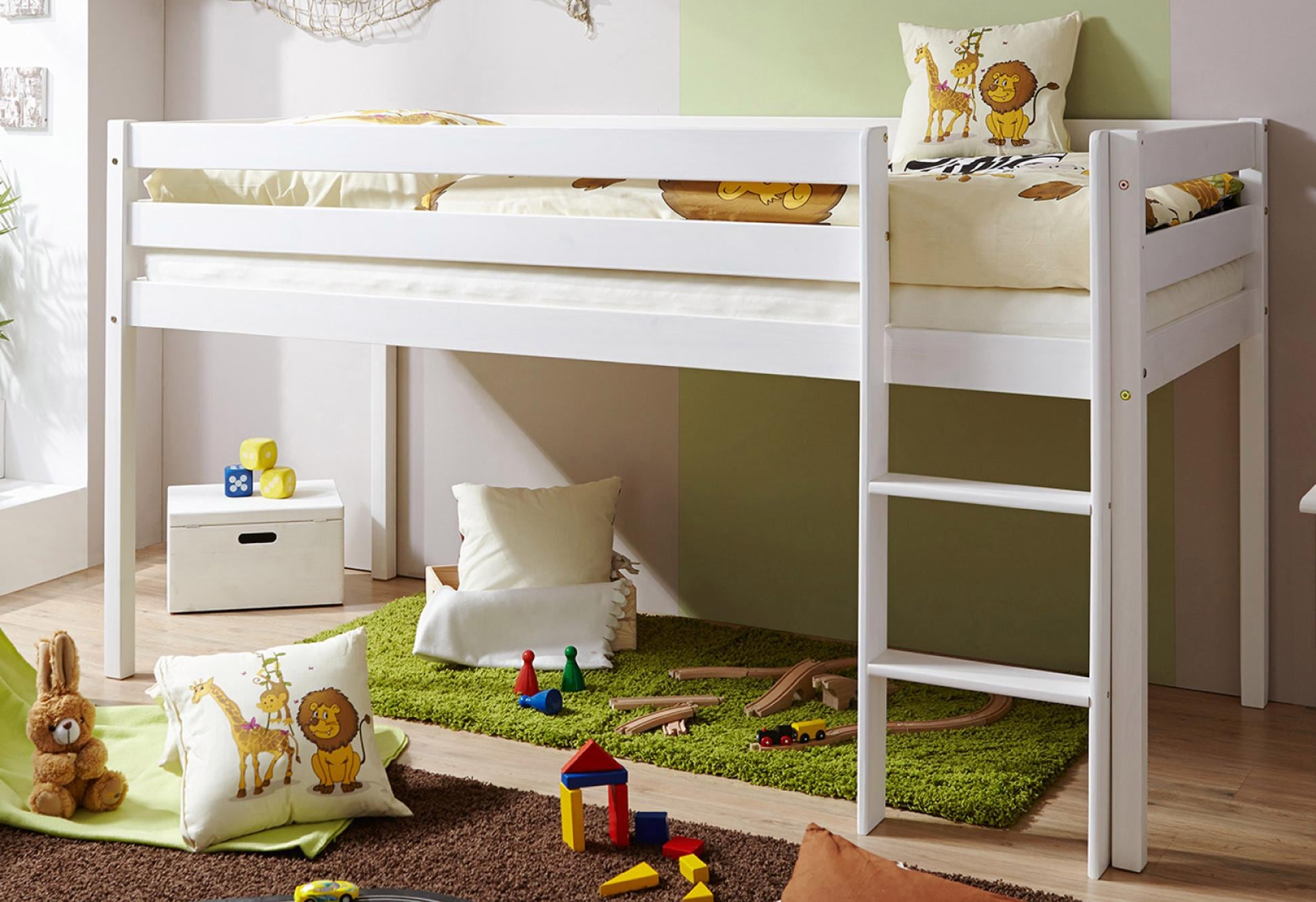 Etagenbett Mit Integriertem Schrank : Kinder hochbetten mit eingebauten schränke günstig kaufen ebay