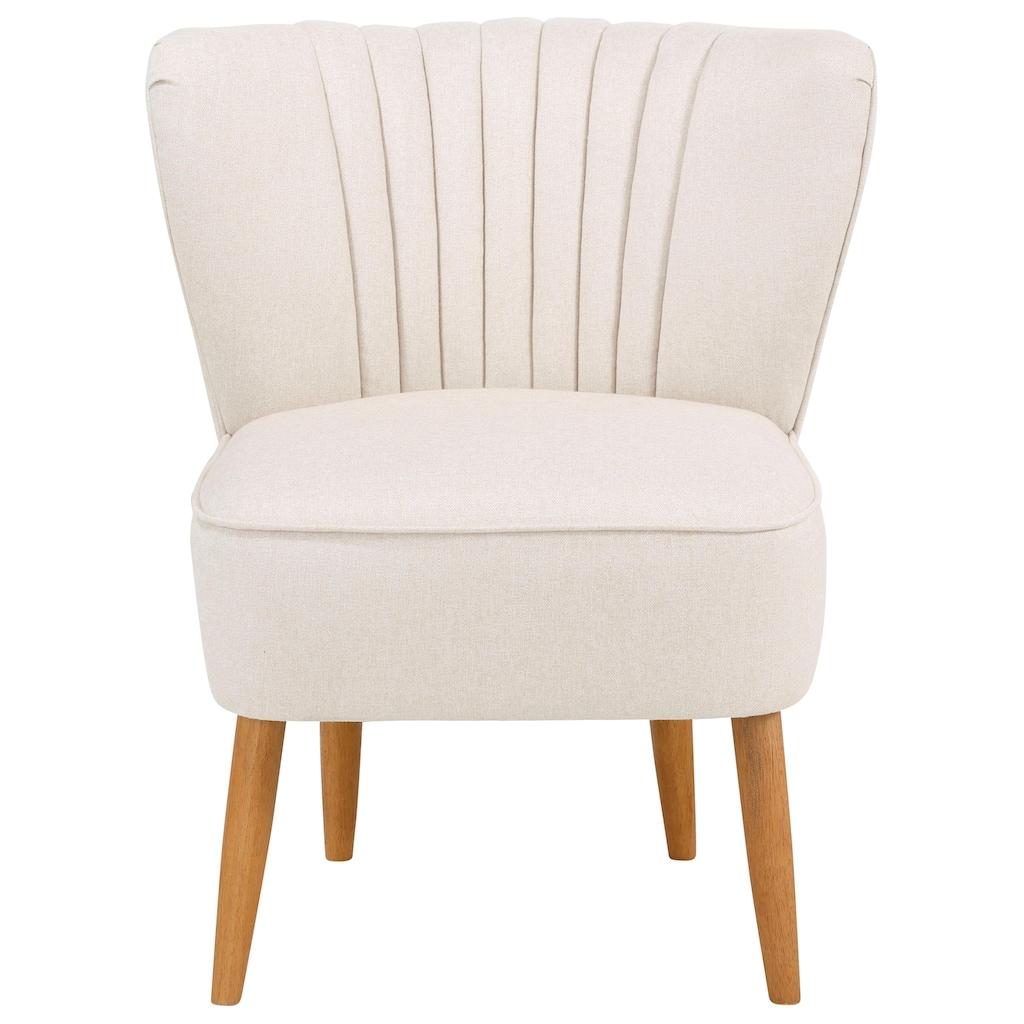 Home affaire Sessel »Indus«, in drei verschiedenen Varianten, mit toller Sitzpolsterung, Sitzhöhe 47 cm