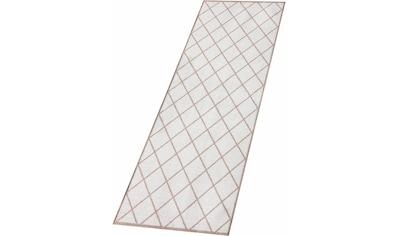 Zala Living Läufer »Scale«, rechteckig, 7 mm Höhe, Rauten Design, In- und Outdoor... kaufen