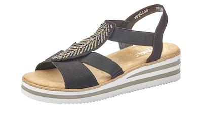 Rieker Sandalette, mit Zierperlen-Verzierung kaufen