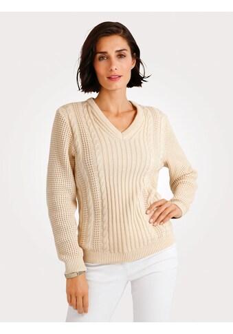 Mona Pullover mit Zopfmuster kaufen