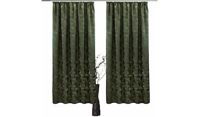 Vorhang, »Melissa«, VHG, Kräuselband 2 Stück kaufen