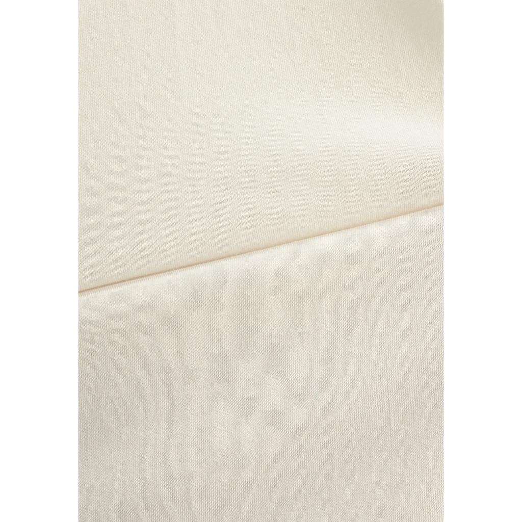 Vivance Dreams Pyjama, (2 Stück), mit seitlichem Print