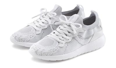 LASCANA Sneaker, in modischer Meshoptik und mit bequemer Innensohle kaufen