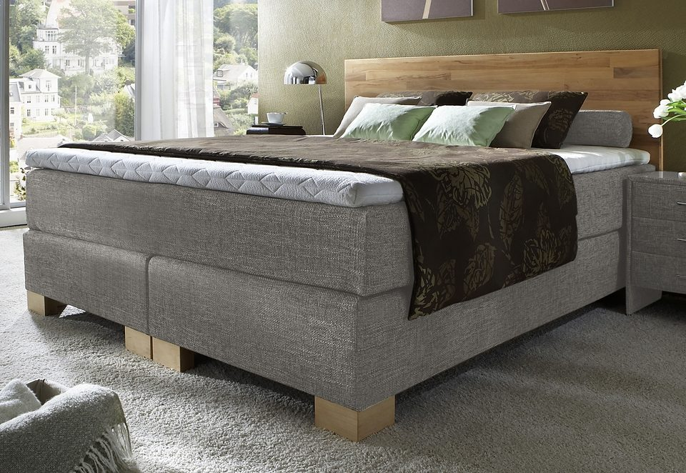 boxspringbett maintal auf rechnung bestellen baur. Black Bedroom Furniture Sets. Home Design Ideas