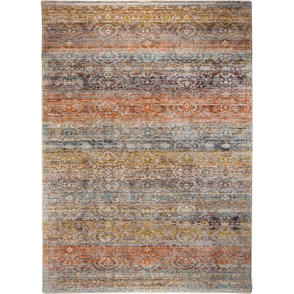 Trendline Teppich »Limitee Day«, rechteckig, 10 mm Höhe, Kurzflor, modernes Vintage Design, Wohnzimmer