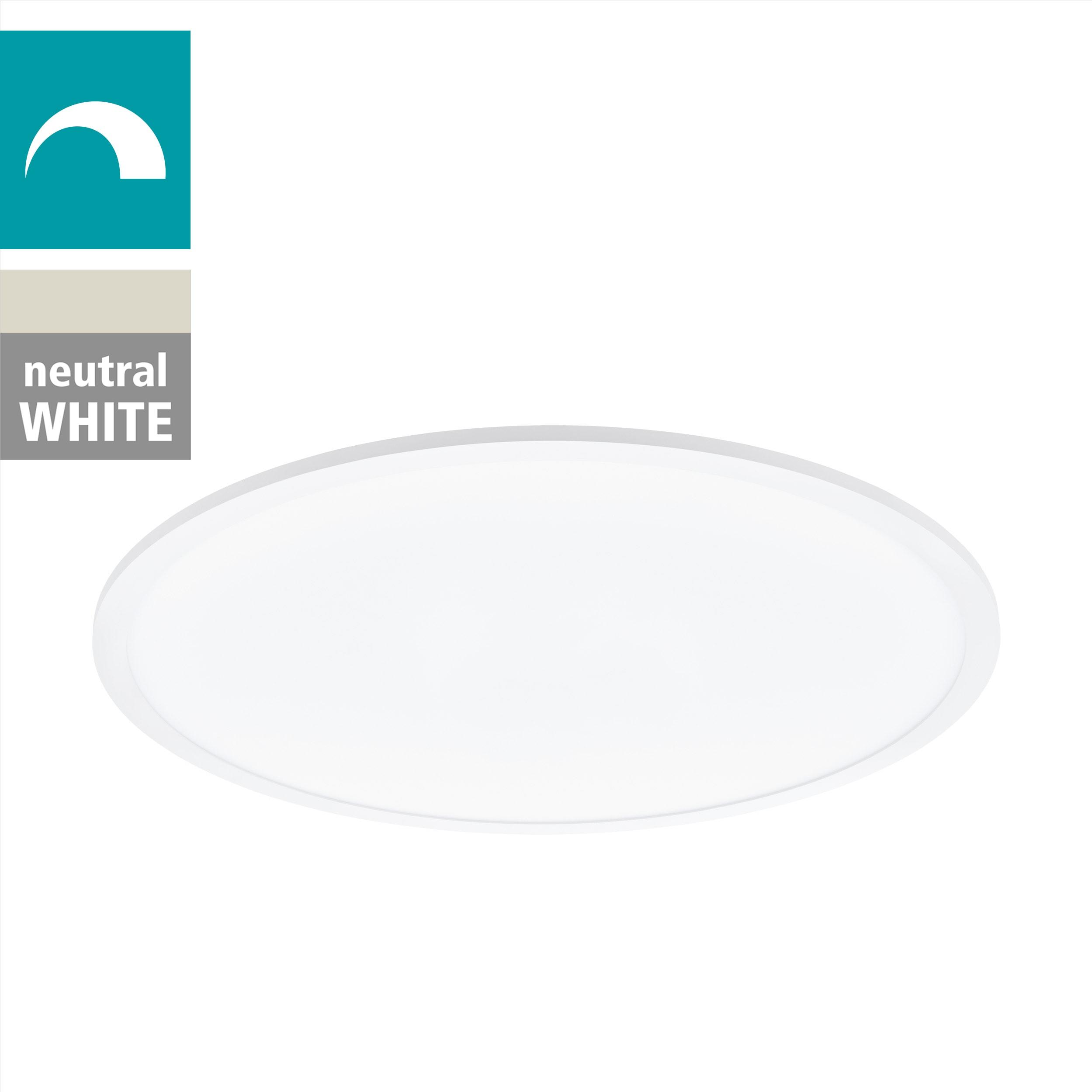 EGLO Deckenleuchte SARSINA, LED-Board, 1 St., Neutralweiß, dimmbar, Durchmesser 60 cm