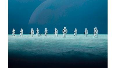 KOMAR Set: Fototapete »Star Wars – Scarif Beach«, Ausgezeichnet lichtbeständig kaufen