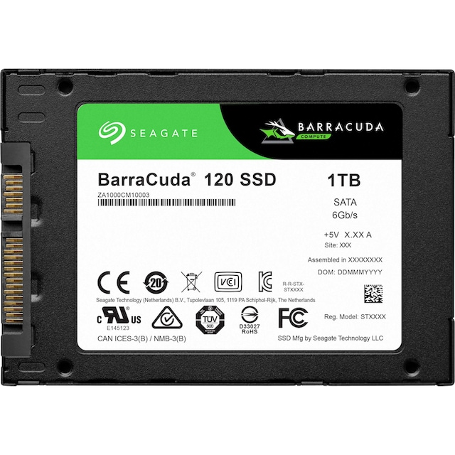 Seagate »BarraCuda 120« SSD 2,5 ''