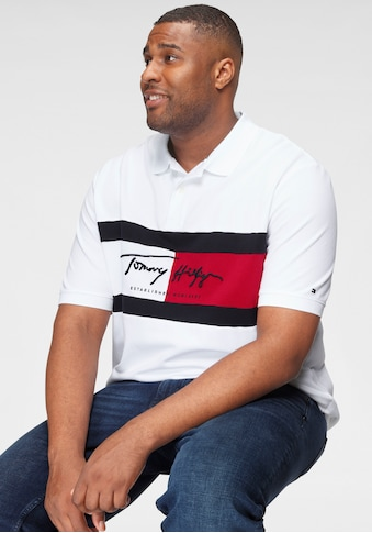 Tommy Hilfiger Big & Tall Poloshirt »BT - AUTOGRAPH FLAG POLO - B« kaufen
