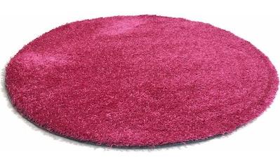 Teppich, »Happy Wash«, Living Line, rund, Höhe 22 mm, maschinell getuftet kaufen
