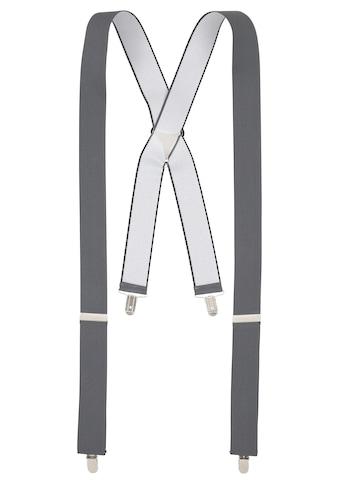 J.Jayz Hosenträger, (1 St.), Breite Hosenträger, Elastisch, Verstellbar, Clipverschluß kaufen