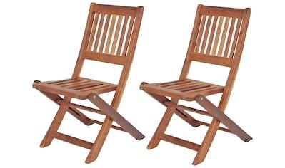 Garden Pleasure Kinderklappstuhl »MONTANA«, 2er Set, Gartenstühle für Kinder kaufen