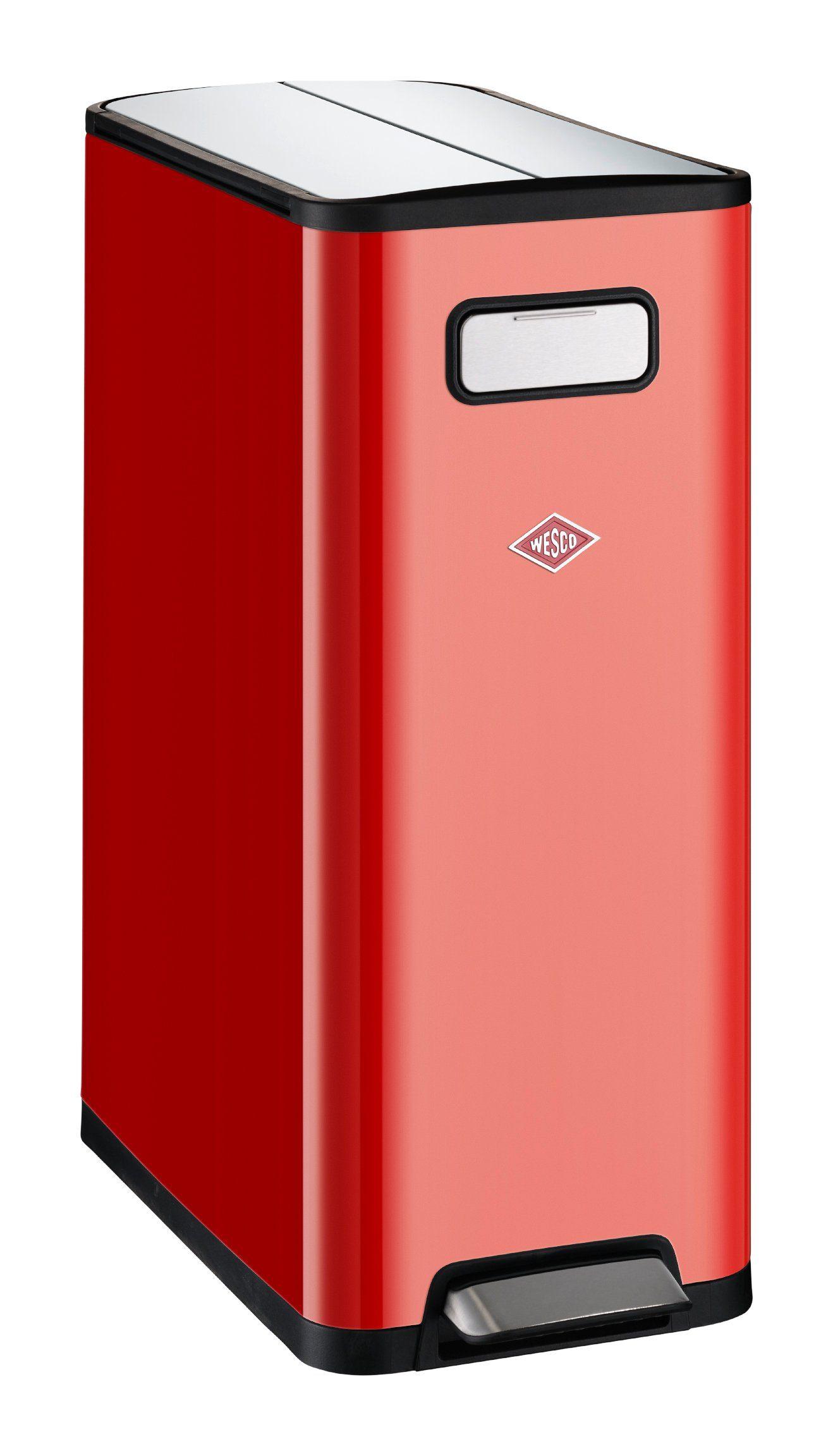 Wesco Mülltrenner BIG DOUBLE MA Wohnen/Haushalt/Haushaltswaren/Reinigung/Mülleimer/Mülltrennsysteme