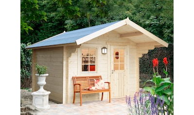 WOLFF FINNHAUS Gartenhaus »Monika 34 - B«, BxT: 360x440 cm, inkl. Fußboden kaufen