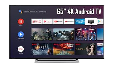 Toshiba 65UA3A63DG LED - Fernseher (164 cm / (65 Zoll), 4K Ultra HD, Smart - TV Android TV kaufen