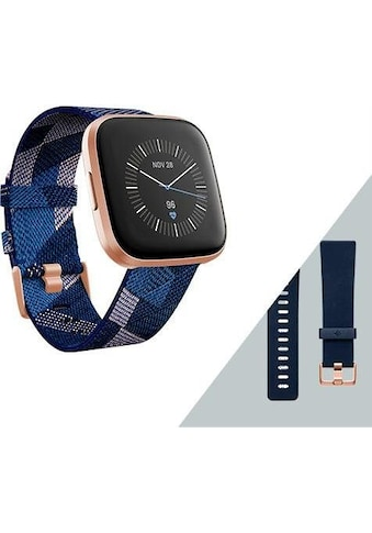 fitbit Versa 2  -  Sonderedition (inkl. Ersatzarmband) Smartwatch ( 1,37 Zoll, FitbitOS5) kaufen