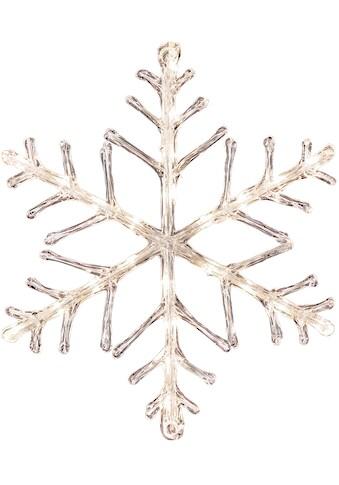 KONSTSMIDE LED Stern, LED-Modul, 1 St., Warmweiß, LED Acryl Schneeflocke, 24 warm... kaufen