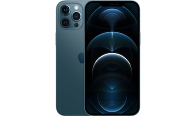 """Apple Smartphone »iPhone 12 Pro Max - 256GB«, (17 cm/6,7 """" 256 GB Speicherplatz, 12 MP Kamera), ohne Strom Adapter und Kopfhörer, kompatibel mit AirPods, AirPods Pro, Earpods Kopfhörer kaufen"""