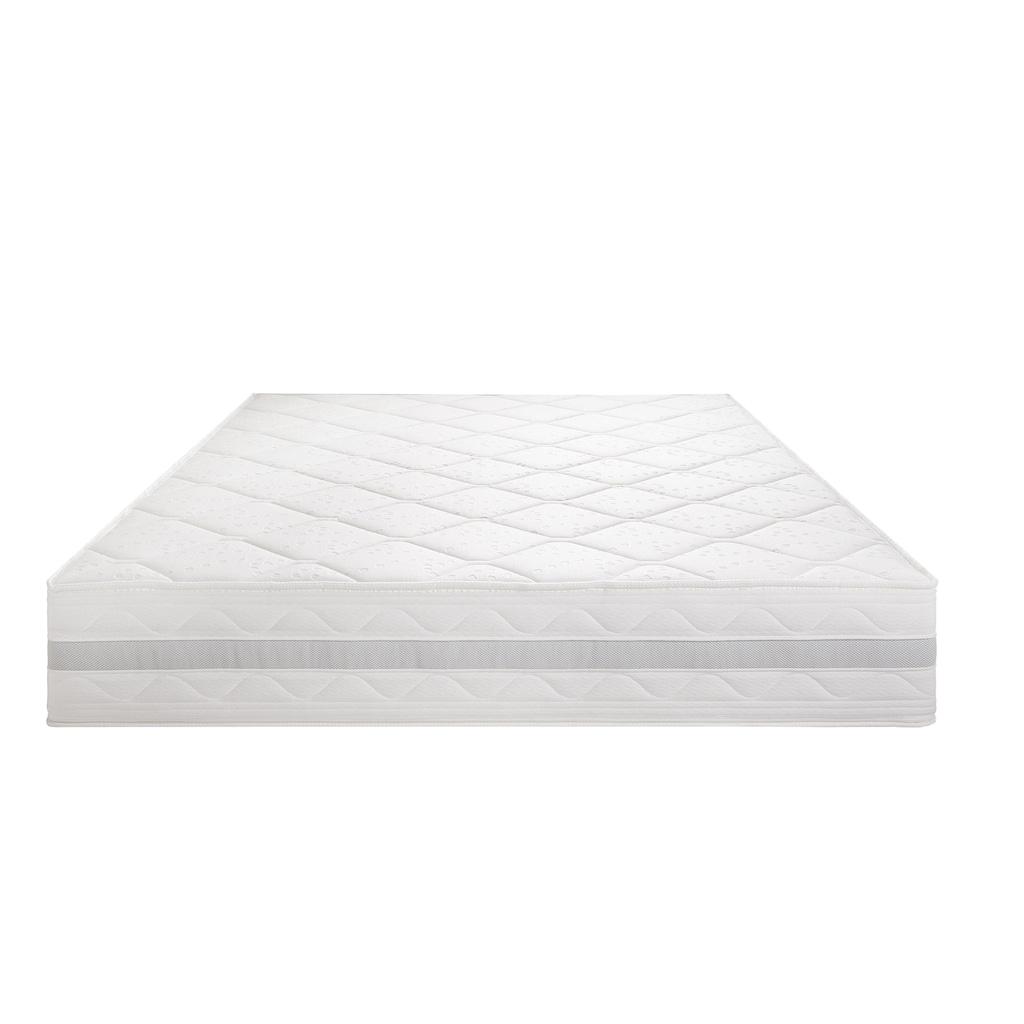 Breckle Gelschaummatratze »Gelschaum-5000«, (1 St.), 7-Zonen Komfortschaumkern, atmungsaktive Gelschaum-Zellstruktur für ein ideales Schlafklima, Made in Germany