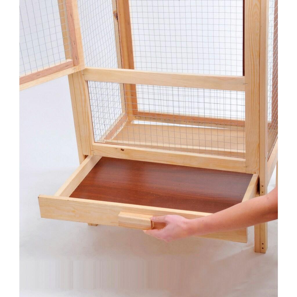 SILVIO design Voliere, BxLxH: 63x46x160 cm