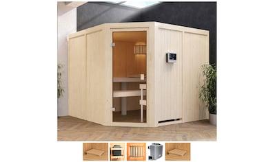 Karibu Sauna »Evka«, 9-kW-Ofen mit ext. Steuerung kaufen