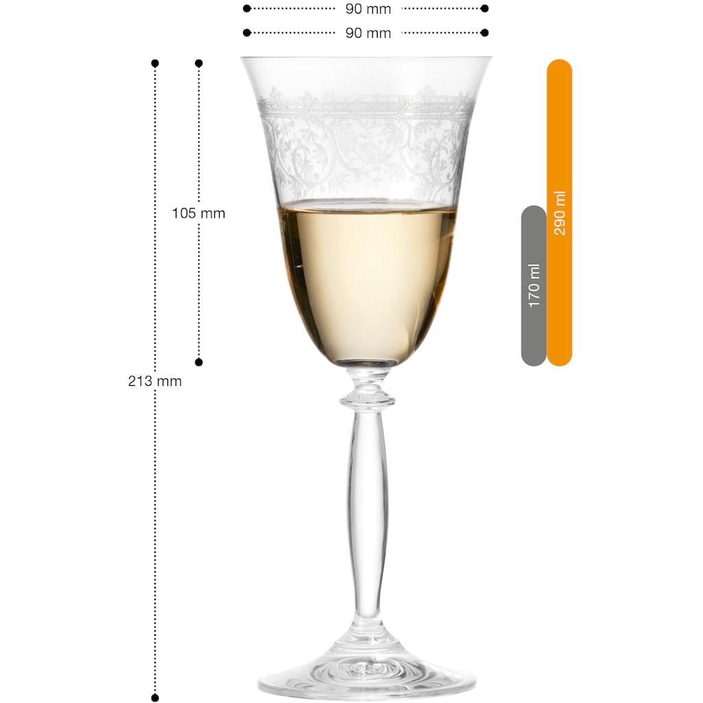 montana-Glas Weißweinglas »avalon«, (Set, 6 tlg.), 6-teilig
