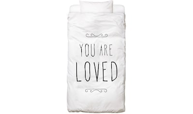 Bettwäsche »You Are Loved«, Juniqe kaufen