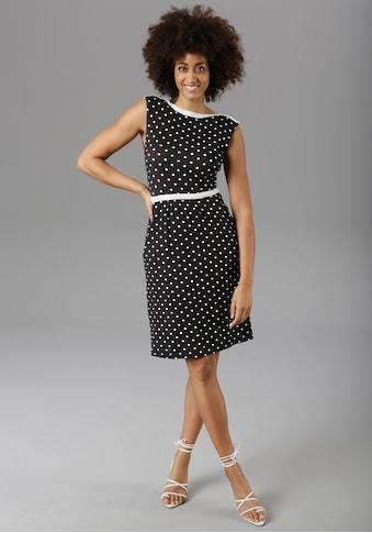 Aniston SELECTED Sommerkleid, im modischen Pünktchen kaufen