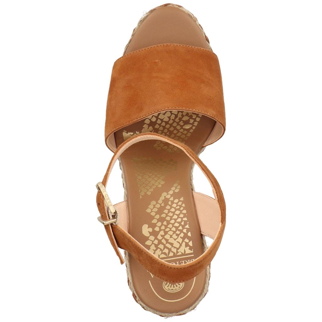 Fred de la Bretoniere High-Heel-Sandalette »Leder«