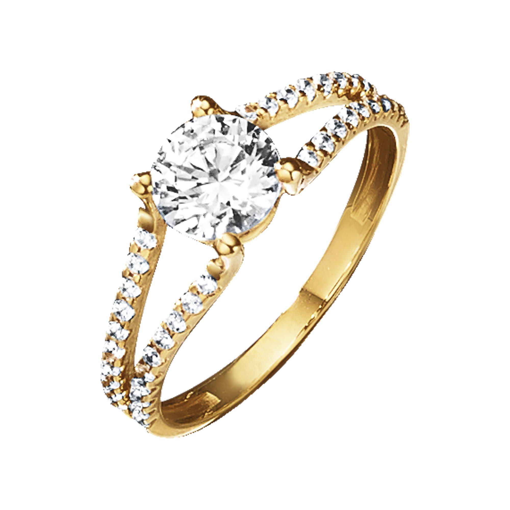 Jacques Lemans Ring 375/- Gold | Schmuck > Ringe | Gelb | Jacques Lemans