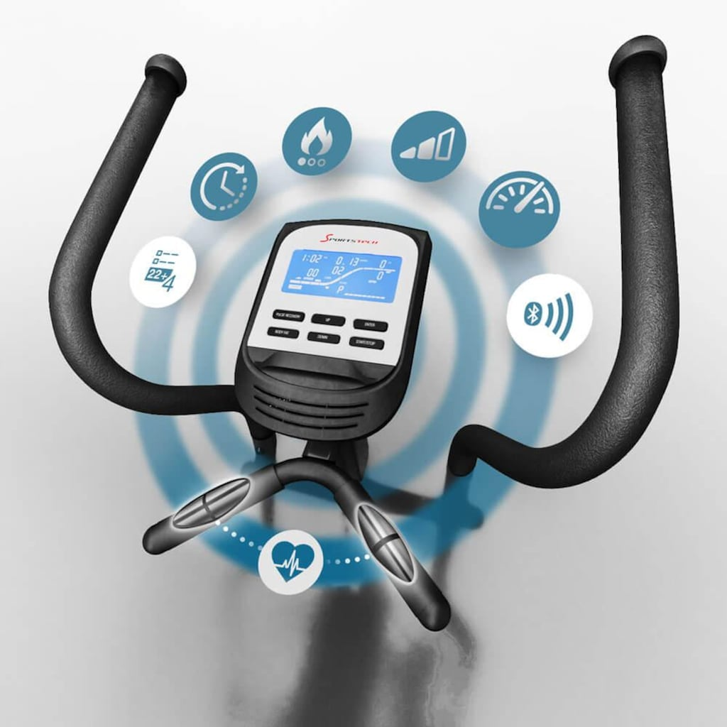 Sportstech Ellipsentrainer »CX640«, integrierte Tablethalterung