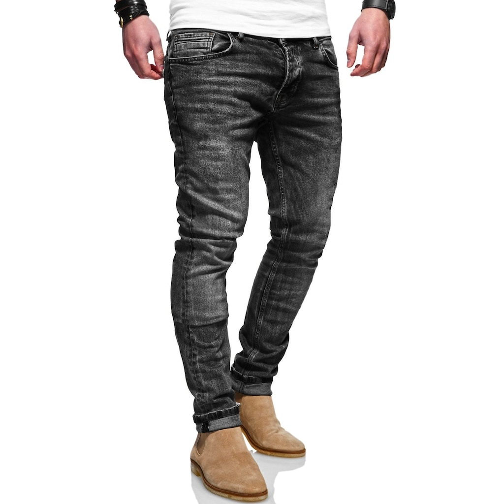 Rello & Reese Slim-fit-Jeans, mit schmalem Bein