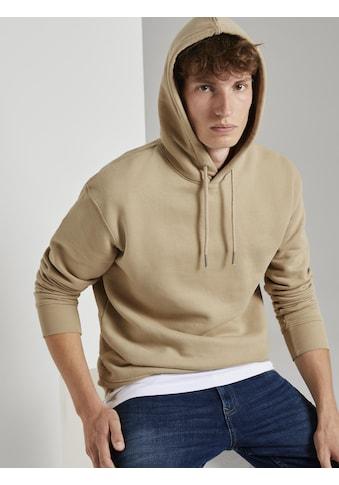 TOM TAILOR Denim Kapuzensweatshirt »Basic Hoodie« kaufen