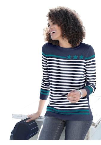 Casual Looks Pullover mit Rundhals - Ausschnitt kaufen