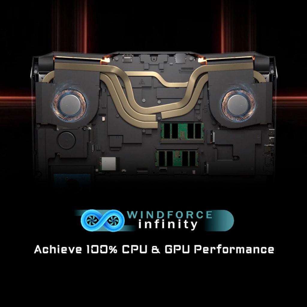 "Notebook »AORUS 15G KC-8DE2130SD«, (39,6 cm/15,6 "" Intel Core i7 GeForce RTX™ 3060\r\n 512 GB SSD), Kostenloses Upgrade auf Windows 11, sobald verfügbar"