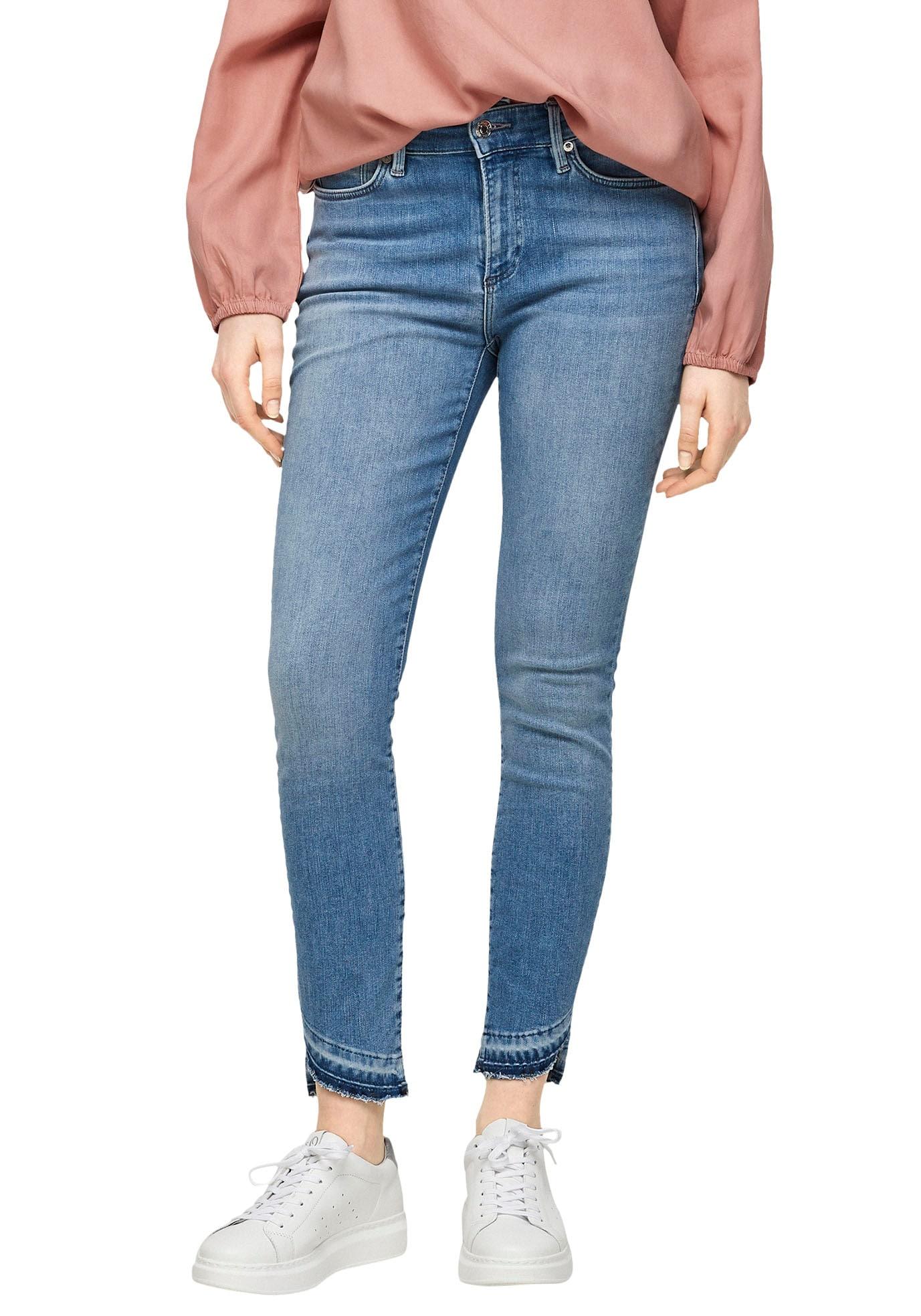 s.oliver -  7/8-Jeans, im Skinny Schnitt mit toller Waschung