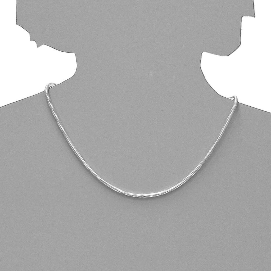 OSTSEE-SCHMUCK Silberkette »- Schlange 3,0 mm - Silber 925/000 -,«, (1 tlg.)