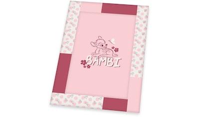 Herding Krabbeldecke »Disney`s Bambi, rosa«, mit Schriftzug kaufen