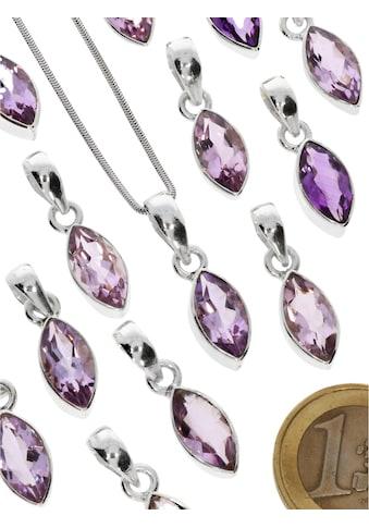 Adelia´s Kettenanhänger »Amethyst Anhänger 925 Silber« kaufen