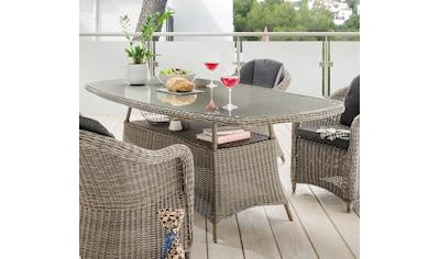 DESTINY Tisch »Luna«, Polyrattan, 180x100 cm kaufen