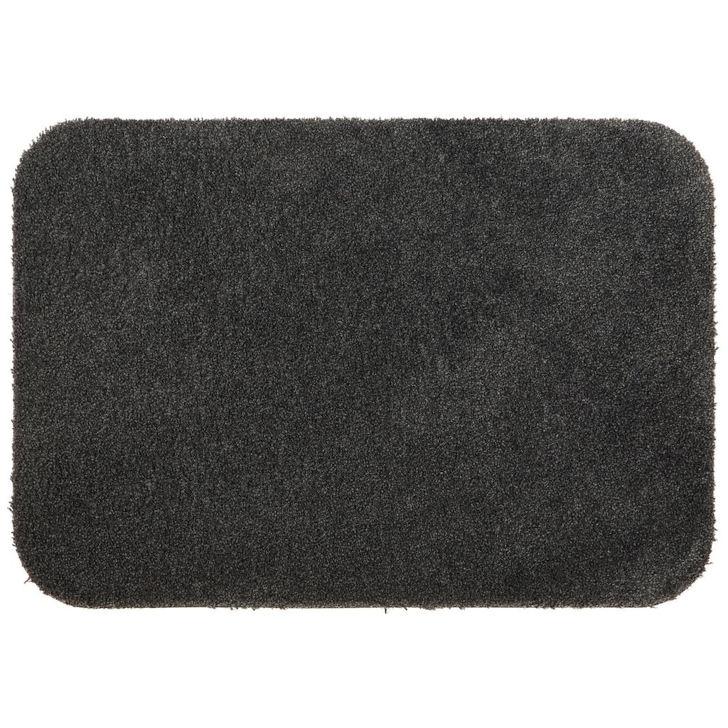 Home affaire Fußmatte »Willa«, rechteckig, 9 mm Höhe, Schmutzfangmatte, In- und Outdoor geeignet, waschbar