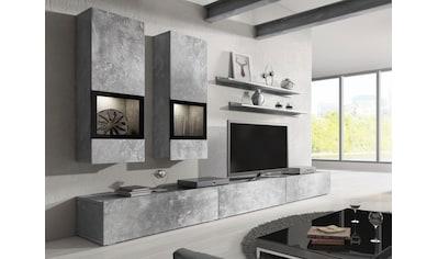 TRENDMANUFAKTUR Wohnwand »Baros« (Set, 6 - tlg) kaufen