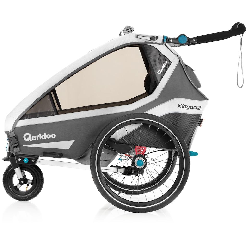 Qeridoo Fahrradkinderanhänger »KIDGOO 2«