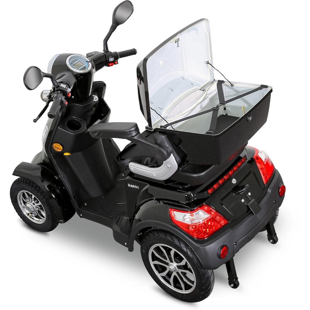 Rolektro Elektromobil »Rolektro E-Quad 25 V.2, Blei-Gel-Akku«, 1000 W, 25 km/h, (mit Topcase)